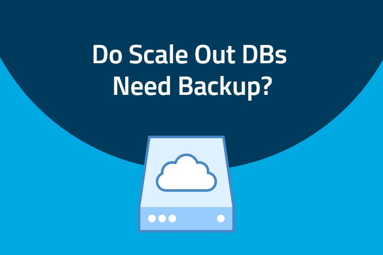Do scale out databases need to be backed up?