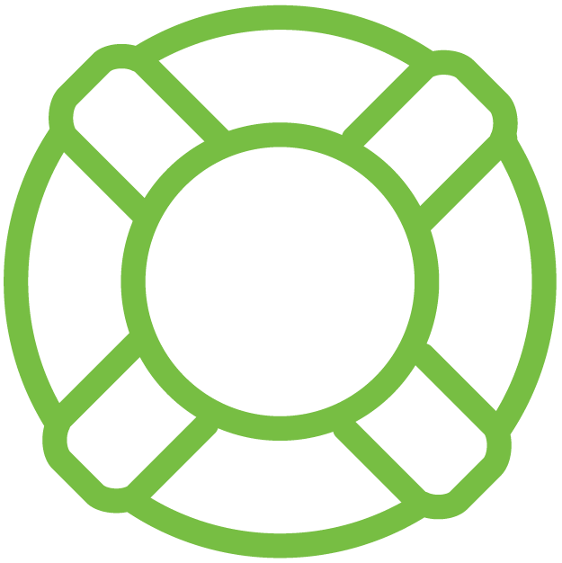 Trilio lifesaver icons - native recovery, data protection & backup as a service for openstack clouds