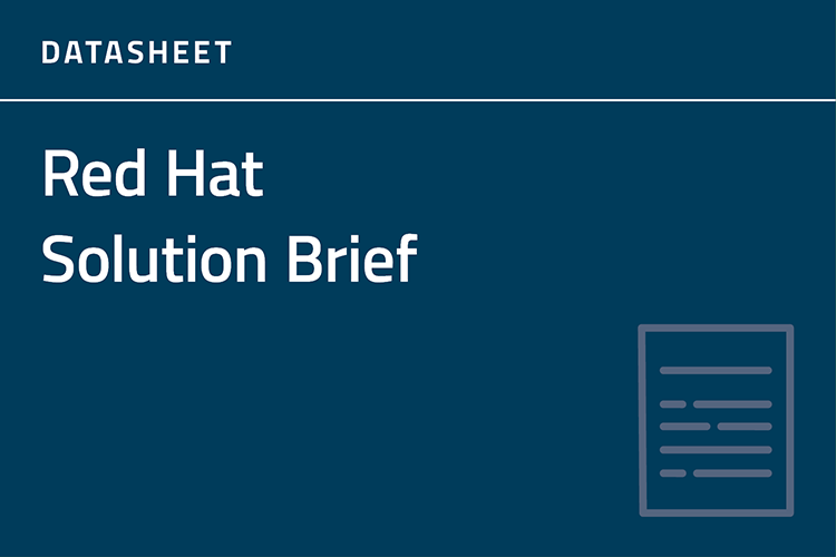 Red Hat Solution Brief