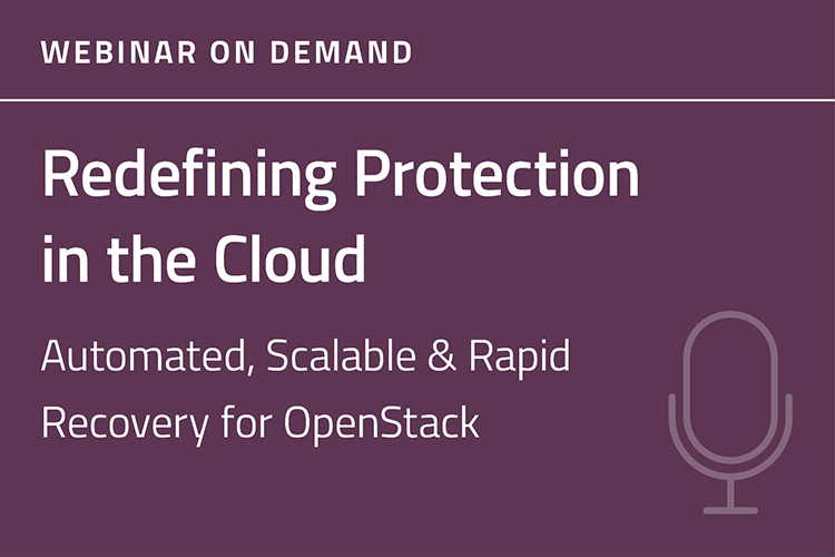 Redefining Protection in the Cloud Webinar