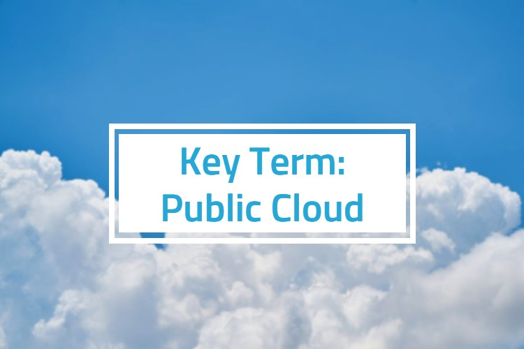 Cloud with key term: public cloud