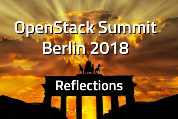 Reflections OpenStack Berlin