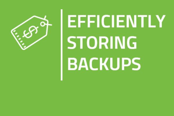 Efficiently Storing Backups Blog Thumbnail