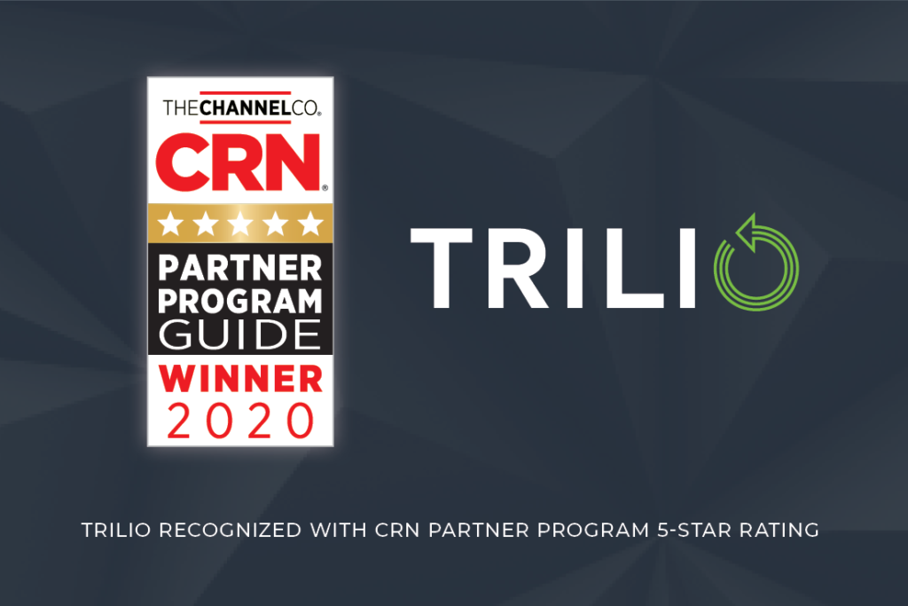 Trilio Receives 5-Star Rating