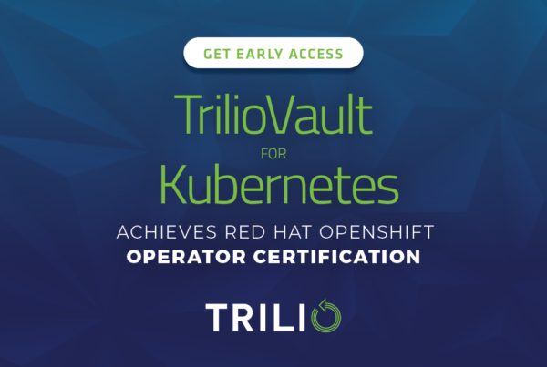 TrilioVault for Kubernetes
