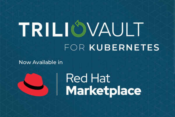TrilioVault Red Hat Marketplace
